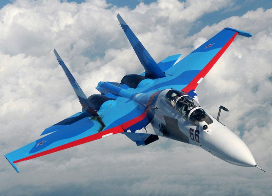 Russian Knights' in-flight recording