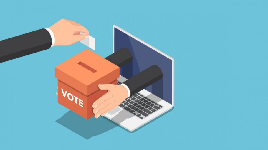 cryptocurrency e voting