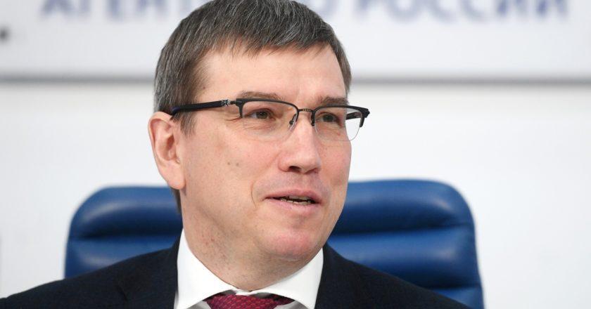 Photo: Deputy Minister of Industry and Trade Oleg Bocharov. Yevgeny Odinokov/RIA Novosti