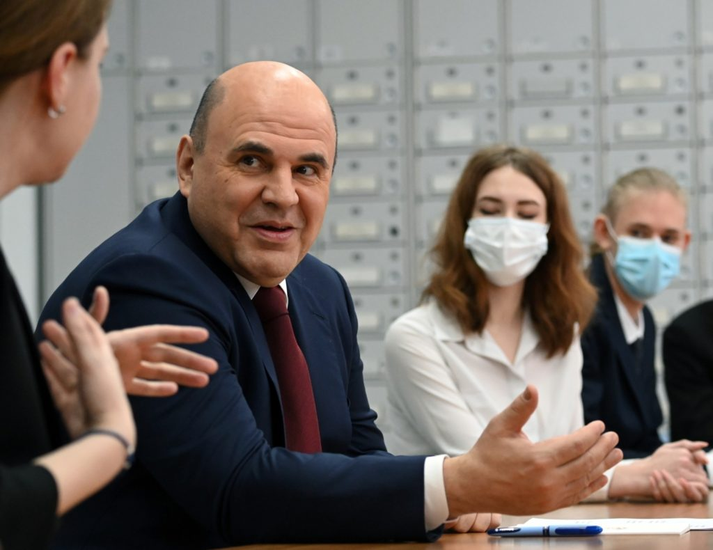 Russian Prime Minister Mikhail Mishustin. Grigory Sysoyev / RIA Novosti